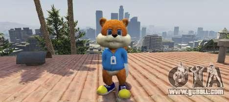 GTA 5 Conker The Squirrel