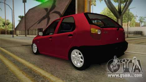 Volkswagen Golf G4 for GTA San Andreas left view