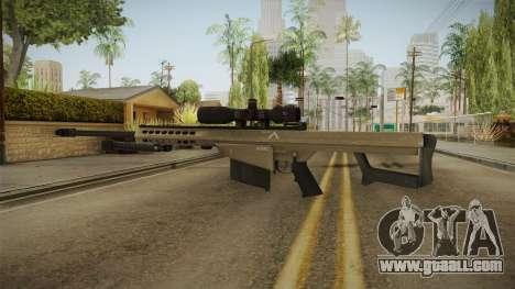 Battlefield 4 - M82A3 for GTA San Andreas second screenshot
