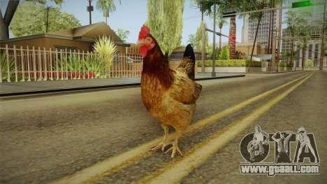 GTA 5 Chicken for GTA San Andreas