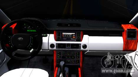 Land Rover Range Rover Supercharged for GTA San Andreas inner view