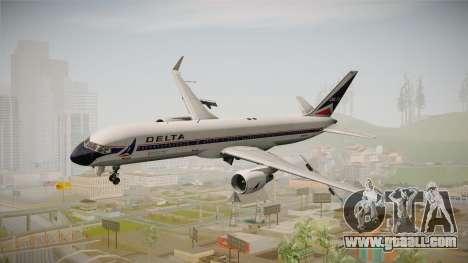 Boeing 757-200 Delta Air Lines (Widget) for GTA San Andreas