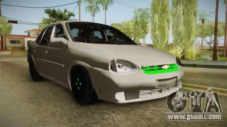 Chevrolet Corsa 1.4 for GTA San Andreas