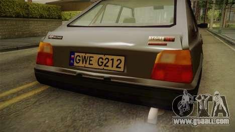 FSO Polonez Caro 1.4 GLI 16V for GTA San Andreas inner view