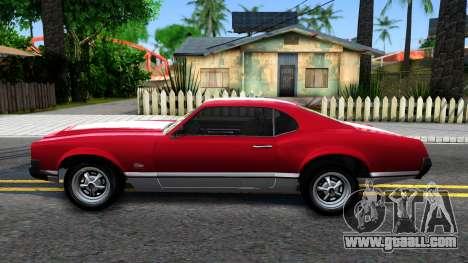 Sabre Turbo GTA 5 for GTA San Andreas left view