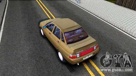 VAZ 21103 Suite for GTA San Andreas back view