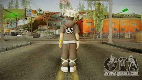 Pokémon Sun And Moon - Guzma for GTA San Andreas third screenshot