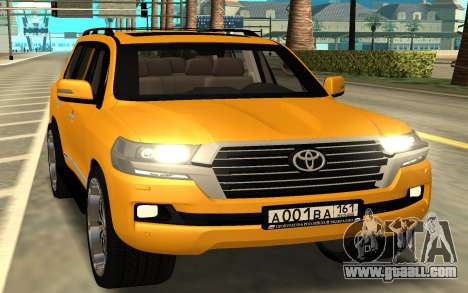 Toyota Land Cruiser 200 for GTA San Andreas