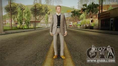 007 James Bond Daniel Craig Suit v2 for GTA San Andreas second screenshot