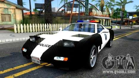 ZR-350 SFPD Police Pursuit Car for GTA San Andreas