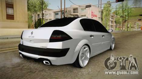 Renault Megane for GTA San Andreas back left view