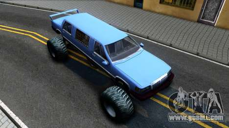 Stretch Monster Truck for GTA San Andreas right view