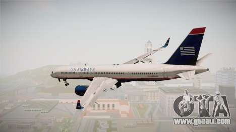 Boeing 757-200 US Airways for GTA San Andreas left view