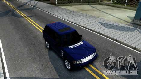 Land Rover Range Rover Supercharged for GTA San Andreas right view
