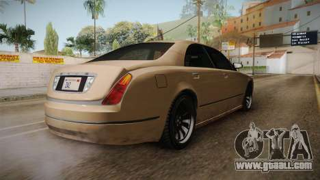 GTA 5 Enus Cognoscenti 55 SA Style for GTA San Andreas right view