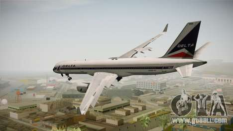 Boeing 757-200 Delta Air Lines (Widget) for GTA San Andreas left view
