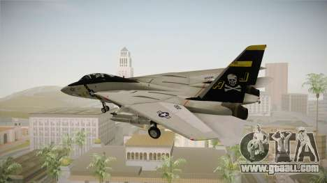 F-14A IRIS for GTA San Andreas left view