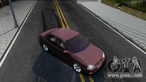 Chevrolet Corsa Sedan for GTA San Andreas right view