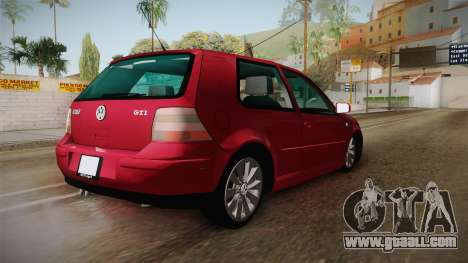 Volkswagen Golf GTI for GTA San Andreas left view