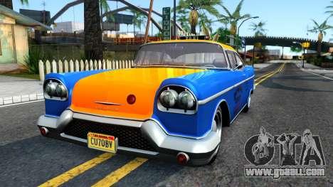 GTA V Declasse Cabbie for GTA San Andreas