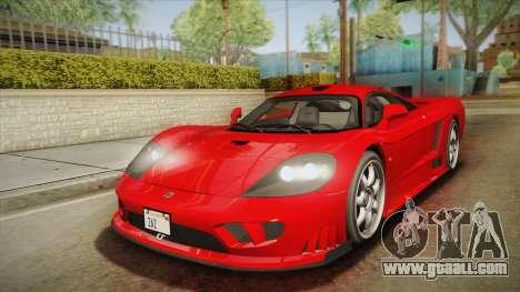 Saleen S7 for GTA San Andreas