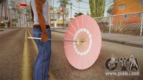 Alice Cartelet Umbrella for GTA San Andreas