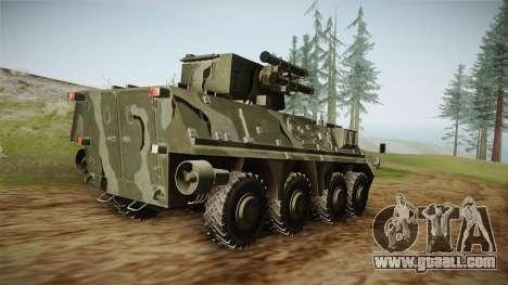 BTR-4E for GTA San Andreas right view