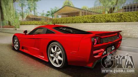 Saleen S7 for GTA San Andreas left view