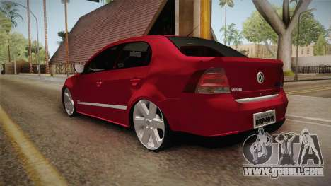 Volkswagen Voyage Fix for GTA San Andreas back left view
