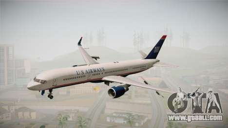 Boeing 757-200 US Airways for GTA San Andreas back left view