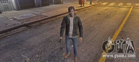 GTA 5 Norman Reedus from Silent Hills third screenshot