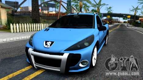 Peugeot Hoggar for GTA San Andreas