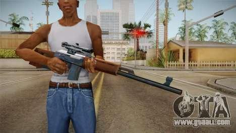 Dragunov Low Poly SA Style for GTA San Andreas third screenshot