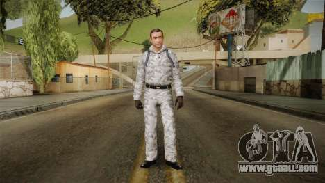 007 Sean Connery Winter Outfit for GTA San Andreas second screenshot