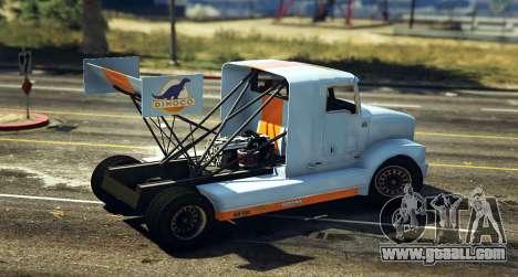 GTA 5 Drift Packer MTL back view