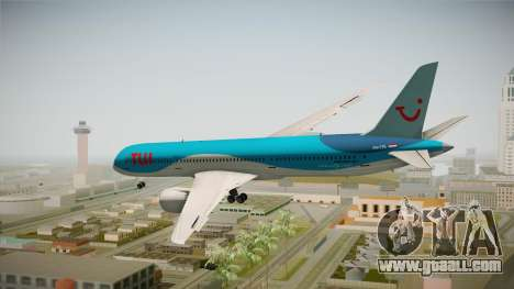 Boeing 787 TUI Airlines for GTA San Andreas right view