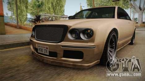 GTA 5 Enus Cognoscenti 55 SA Style for GTA San Andreas inner view