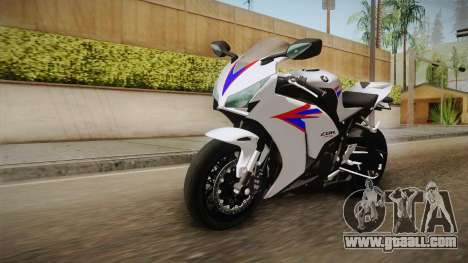 Honda CBR1000RR HRC 2012 for GTA San Andreas right view