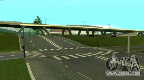 Russian roads for GTA San Andreas eleventh screenshot