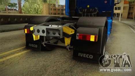 Iveco Stralis Hi-Way 560 E6 4x2 v3.2 for GTA San Andreas interior