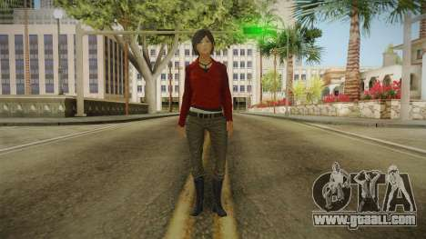 Uncharted 3 - Chloe Frazer for GTA San Andreas second screenshot