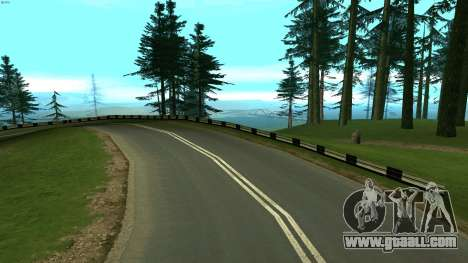Russian roads for GTA San Andreas tenth screenshot