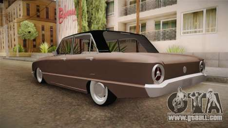 Ford Falcon 1963 for GTA San Andreas left view