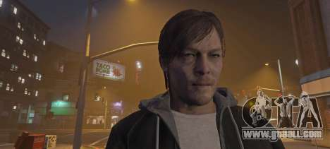 GTA 5 Norman Reedus from Silent Hills second screenshot