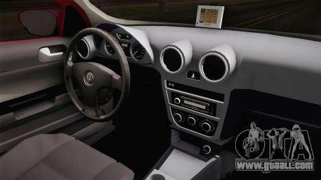 Volkswagen Voyage Fix for GTA San Andreas inner view