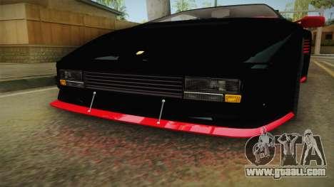 GTA 5 Pegassi Infernus Classic IVF for GTA San Andreas side view