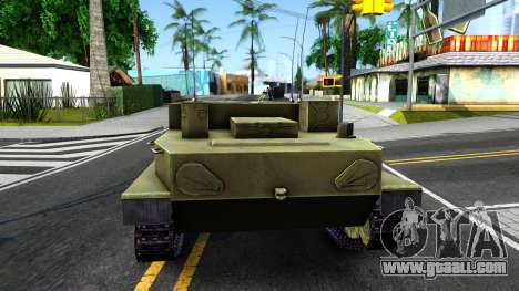 BTR-50 for GTA San Andreas back left view