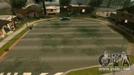 Russian roads for GTA San Andreas second screenshot