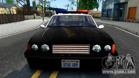 Vincent Cop for GTA San Andreas inner view