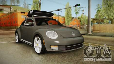 Volkswagen Beetle 2013 Daily Car for GTA San Andreas